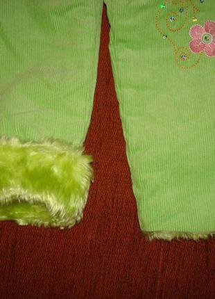 Очень теплые штанишки на 2-3 года4