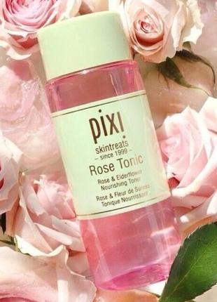 Pixi rose tonic питательный тоник с гидролатом розы 40 мл