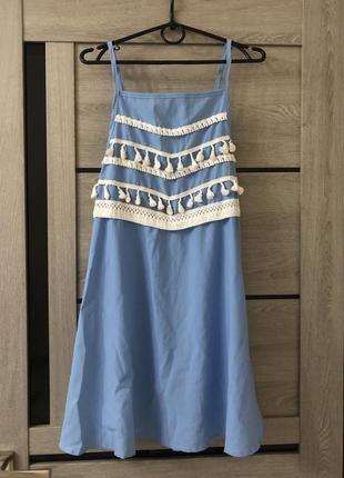 Лёгкий сарафан платье
