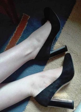 Замшевые туфли stella marco