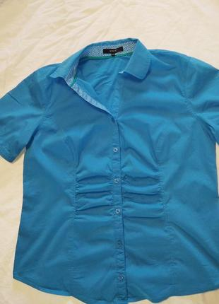 Базовая классная блуза пог 55 см, тянется