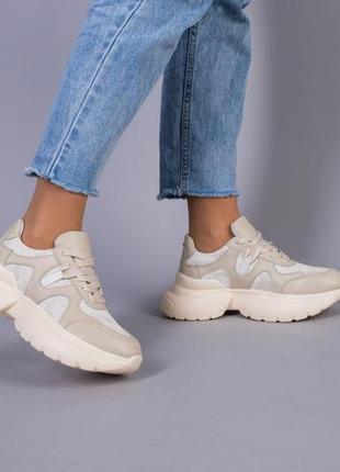 Шикарные кроссовки натуральная кожа тренд