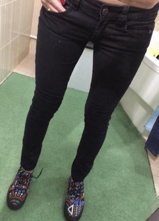 Чёрные джинсы denim life by