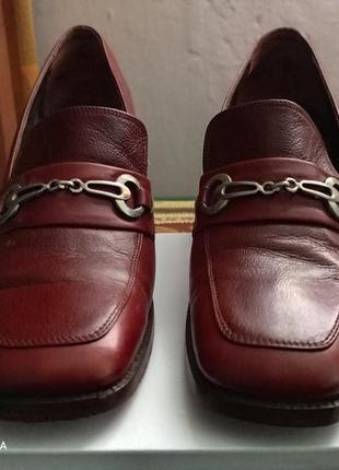 Туфлі , натуральна шкіра , італія