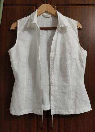 Блуза, рубашка лен