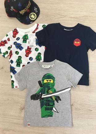 Нова футболка з нинзяго ніндзяго ninjago lego нм хм hm 98 104