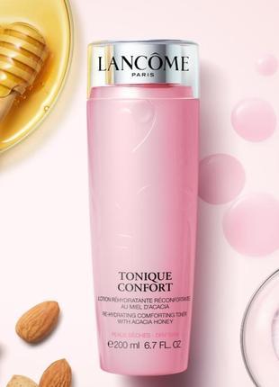 Lancome, tonique comfort (тонік для сухої і чутливої шкіри обличчя) 400ml