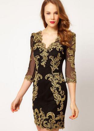 Вечернее короткое платье karen millen