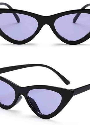 Солнцезащитные очки кошачий глаз cat eyes