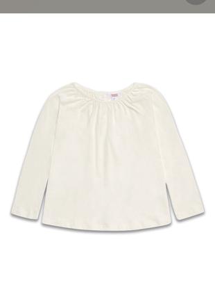 Кофточка/блузочка молочного цвета (под форму)