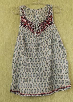 Легкая хлопковая блуза colin's
