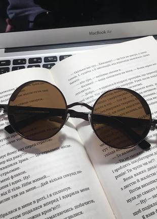 Новые солнцезащитные очки сонцезахисні окуляри круглые