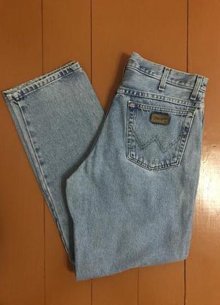 Wrangler джинси голубі