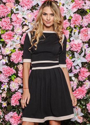 🔥акция‼ подарок 🎁 чёрное платье большой размер