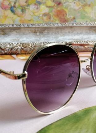 Эксклюзивные брендовые солнцезащитные женские очки с блёстками4 фото