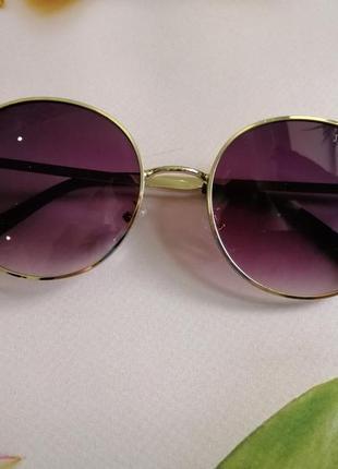 Эксклюзивные брендовые солнцезащитные женские очки с блёстками3 фото
