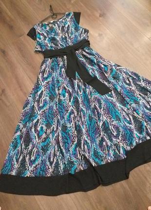 Сукня максі 60-62 розмір