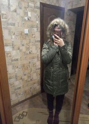 Осенне-зимняя куртка на синтепоне