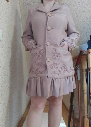Новое женское пальто весна осень