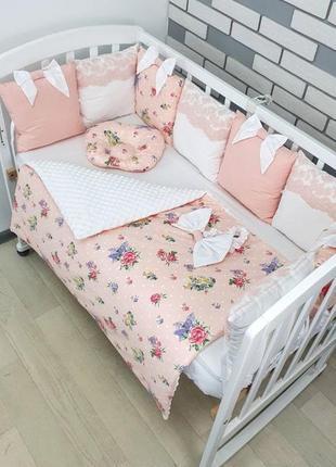 Постельный набор в кроватку