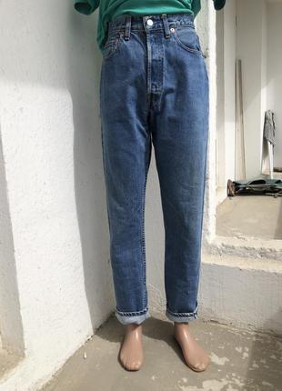 Джинсы унисекс плотные винтажные левайс левис levis 501, джинсы оригинальные