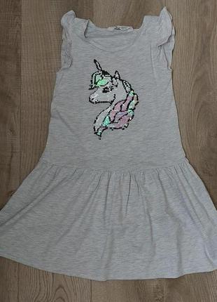 Легкое хлопковое платье h&m (эйч энд эм)