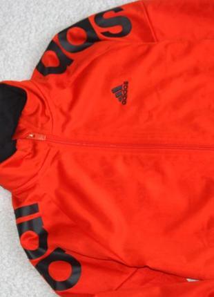 Яркая олимпийка на мальчика adidas2 фото