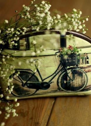 Маленькая женская сумочка coquette велосипед