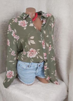 Шикарная блуза рубашка на пуговицах