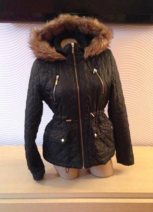 9de6e3dee8f6 Зимний пуховик. женская куртка. new look. для беременных. длинная ...