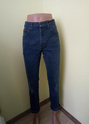 Брендовые джинсы момы высокая посадка