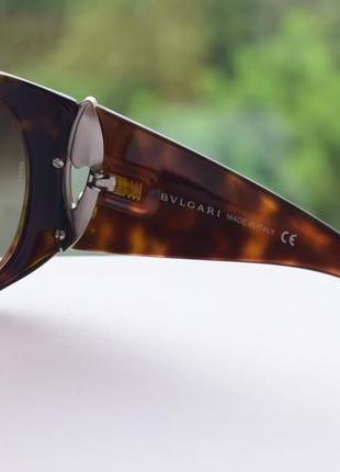 Женские солнцезащитные очки bvlgari, оригинал.6 фото