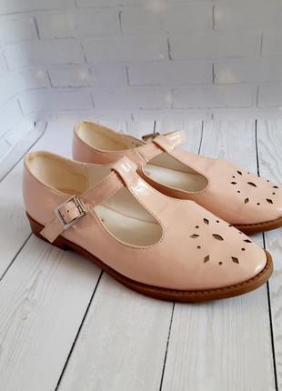 Пудровые туфли балетки dorothy perkins