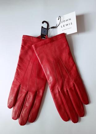 Кожаные перчатки john lewis в изумительном цвете, 100% кожа