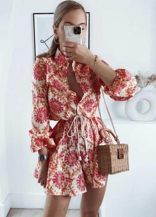 Потрясающее платье zara