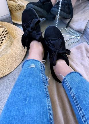 Кросівки кеди замшеві атлас
