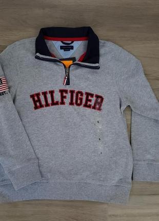 Крутой свитер реглан кофта свитшот батник tommy hilfiger 6 t оригинал usa
