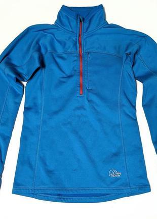Lowe alpine powerstrech polartec спортивная кофта трекинговая