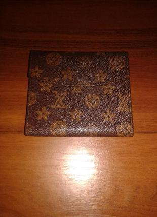 Брендовый кожаный  кошелек louis   vuitton