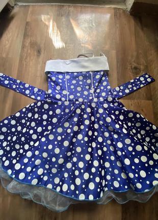 Нарядное платье с фатином