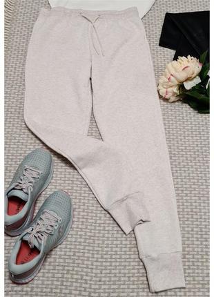 Белые утепленные спортивные брюки primark спортивные штаны