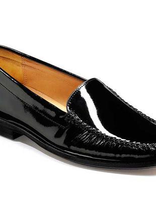 Новые. hand made туфли/лоферы/мокасины barker, англия uk6,5 100% кожа. премиум качество.