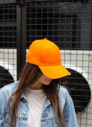Бейсболка without floyd orange woman