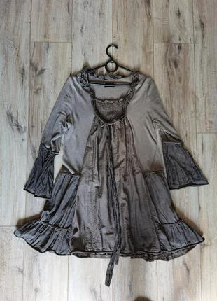 Платье вискоза хлопок шелк