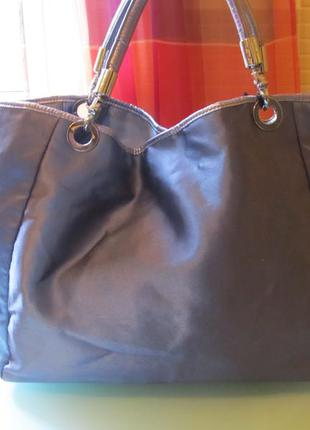 Стильная женская сумка mineli атлас
