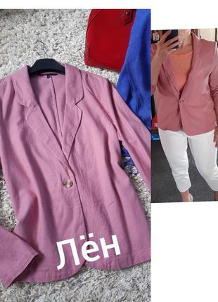 Актуальный льняной безподкладочный жакет/пиджак, vero moda, p. m- l