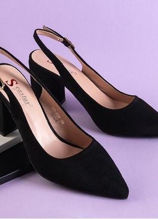 Женские босоножки на высоком каблуке dol