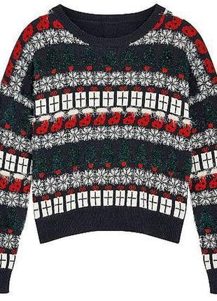 Новогодний свитер рр.xs