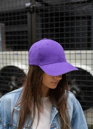 Бейсболка without floyd purple woman