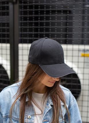 New sale черная хлопковая кепка на лето without